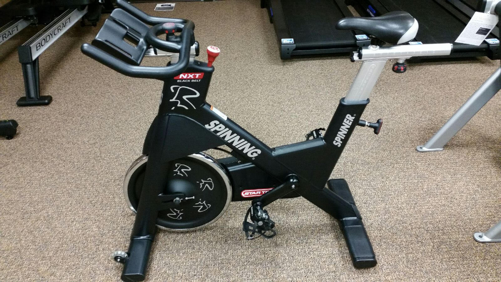 Spin Bikes For Sale >> Treadmill Medic - Used Star Trac NXT Spin Bikes